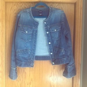 Ladies Denim Jean Jacket